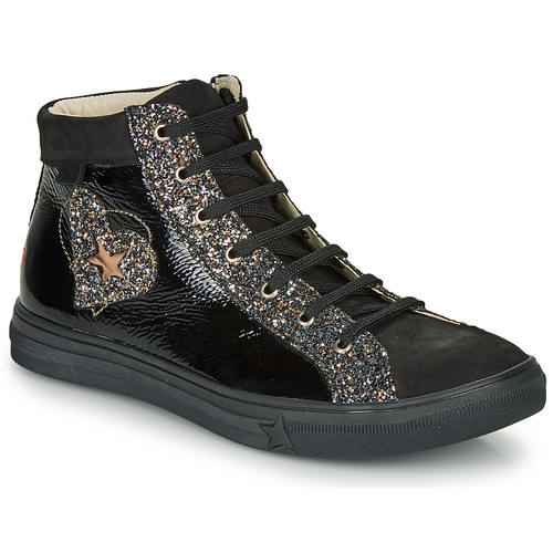 Shoes Girl Hi top trainers GBB MARTA Black