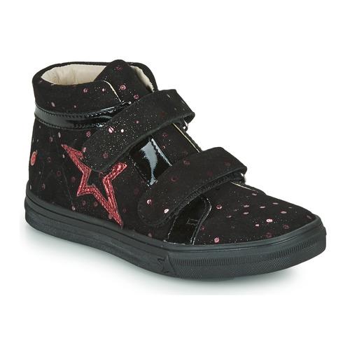 Shoes Girl Hi top trainers GBB OHANE Black