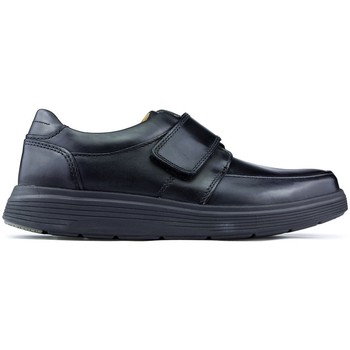 Shoes Men Loafers Clarks Shoes  AN ABODE STRAP BLACK