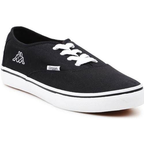 Shoes Men Low top trainers Kappa Home 241446-1110 black