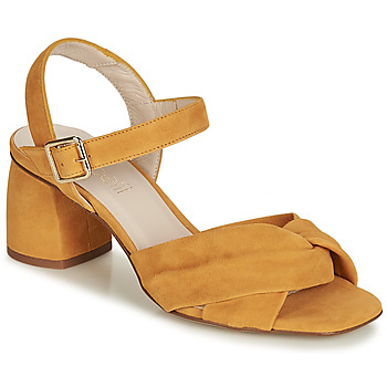 Shoes Women Sandals Fericelli JESSE Yellow