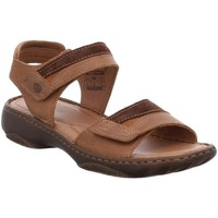 Shoes Women Sandals Josef Seibel Debra 19 Womens Leather Sandals brown