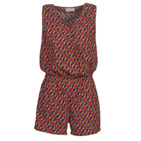 Clothing Women Jumpsuits / Dungarees Moony Mood KETTELLE Red / Multicolour