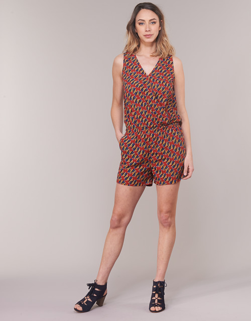 Clothing Women Jumpsuits / Dungarees Moony Mood KETTELLE Red / Multicoloured