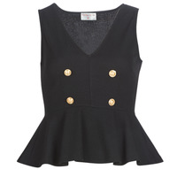 Clothing Women Tops / Blouses Moony Mood KILLE Black