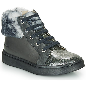 Shoes Girl Hi top trainers Catimini MARCELLE Grey