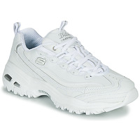 Shoes Women Low top trainers Skechers D'LITES White