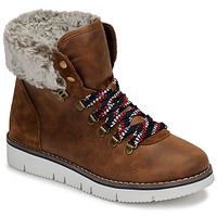 Shoes Women Mid boots Skechers BOBS ROCKY Brown