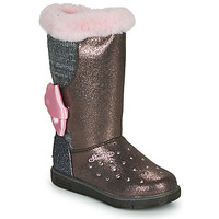 Shoes Girl Mid boots Skechers GLITZY GLAM Pink