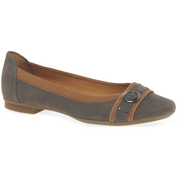 Shoes Women Derby Shoes & Brogues Gabor Michelle Womens Casual Stud Buckle Pumps grey