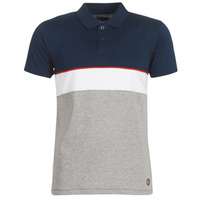 Clothing Men Short-sleeved polo shirts Yurban KOULAZ Marine / Grey / White