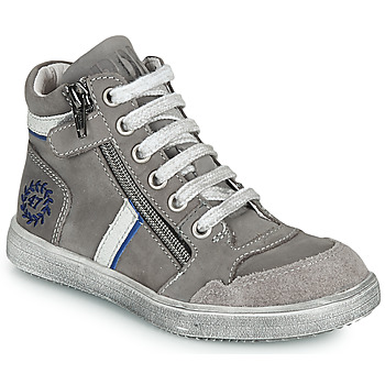 Shoes Boy Hi top trainers Ramdam HOUSTON Grey