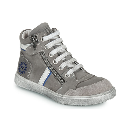 Shoes Boy Hi top trainers Ramdam HOUSTON Grey