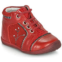 Shoes Girl Mid boots Catimini CALINE Red