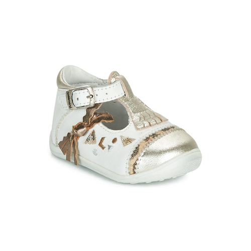 Shoes Girl Flat shoes Catimini CANETTE White