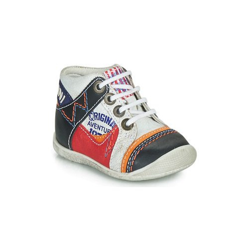 Shoes Boy Mid boots Catimini CACHALOT White