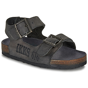 Shoes Boy Sandals Ikks CURTIS Black