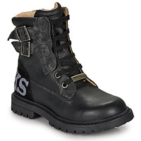 Shoes Boy High boots Ikks JAMES Black
