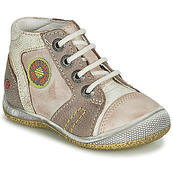 Shoes Boy Mid boots GBB MONTGOMERY Beige