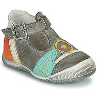 Shoes Boy Sandals GBB MARIO Grey / Blue