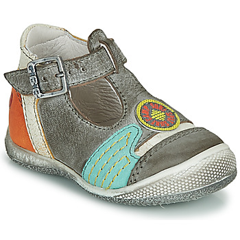 Shoes Boy Sandals GBB MARIO Grey / Blue