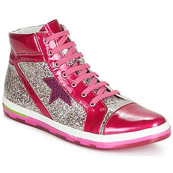 Shoes Girl Hi top trainers Ramdam KATO Pink