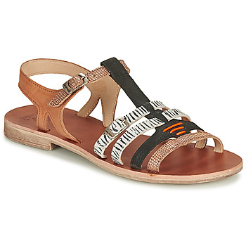 Shoes Girl Sandals Catimini CASSIS Cognac