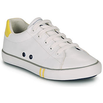 Shoes Boy Low top trainers Ikks WILLIAM White