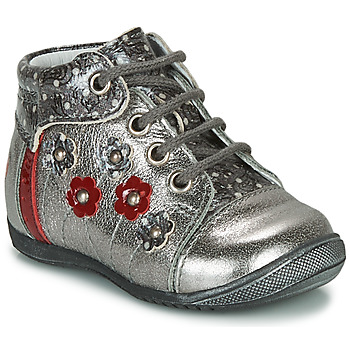 Shoes Girl Mid boots GBB NAYANA Silver