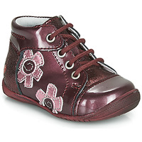 Shoes Girl Mid boots GBB NEIGE Bordeaux
