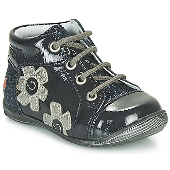 Shoes Girl Mid boots GBB NEIGE Marine / Silver