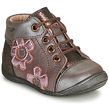 Shoes Girl Mid boots GBB NEIGE Purple / Pink