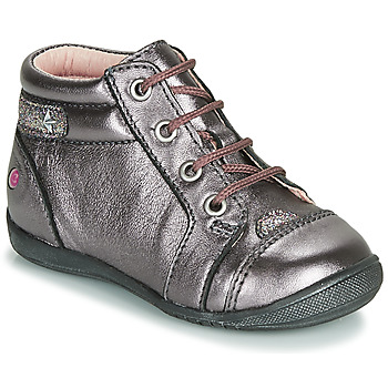 Shoes Girl Mid boots GBB NICOLE Purple / Pink