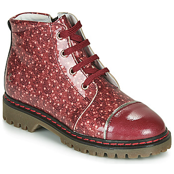 Shoes Girl Mid boots GBB NEVA Red