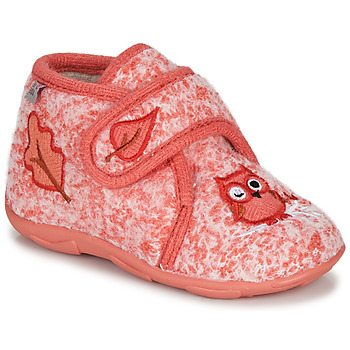 Shoes Girl Slippers GBB NEOPOLO Pink / Red