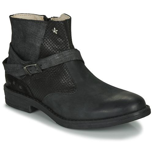Shoes Girl Mid boots Ikks JANE Black