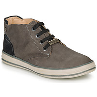 Shoes Boy Hi top trainers Ikks MARK Grey