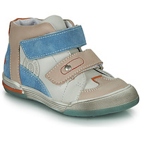 Shoes Boy Hi top trainers GBB PATRICK Grey / Blue