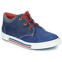 Shoes Boy Low top trainers Catimini PALETTE Blue / Red