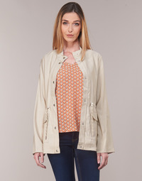 Clothing Women Parkas Only ONLDANIELLE Beige
