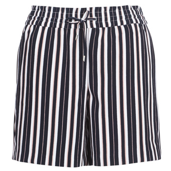 Clothing Women Shorts / Bermudas Only ONLPIPER Marine / White