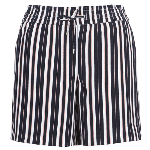 Clothing Women Shorts / Bermudas Only ONLPIPER Marine / White