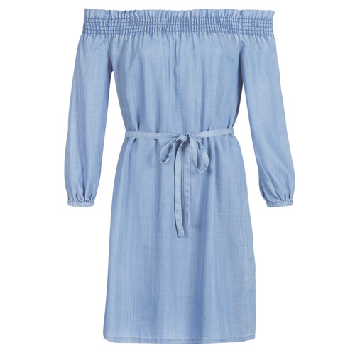 Clothing Women Short Dresses Only ONLSAMANTHA Blue / Clear