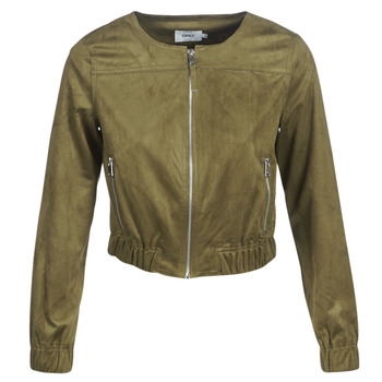 Clothing Women Leather jackets / Imitation leather Only ONLLEONA Pink