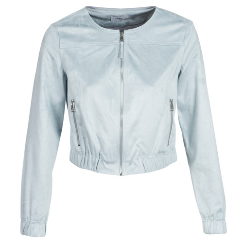 Clothing Women Leather jackets / Imitation leather Only ONLLEONA Blue