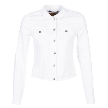 Clothing Women Denim jackets Only ONLTIA White