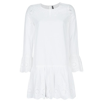 Clothing Women Short Dresses Only ONLALBERTHE White