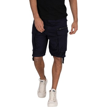 Clothing Men Shorts / Bermudas G-Star Raw Rovic Zip Relaxed Cargo Shorts blue