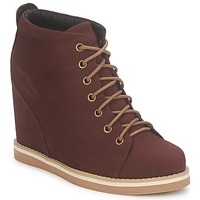Shoes Women Shoe boots No Name WISH DESERT BOOTS BORDEAUX