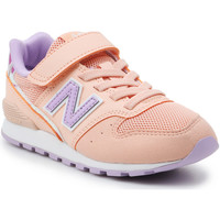 Shoes Girl Low top trainers New Balance YV996M2 orange